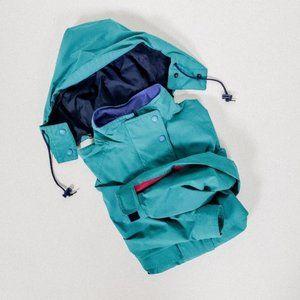 EDDIE BAUER windbreaker shell rain coat vintage